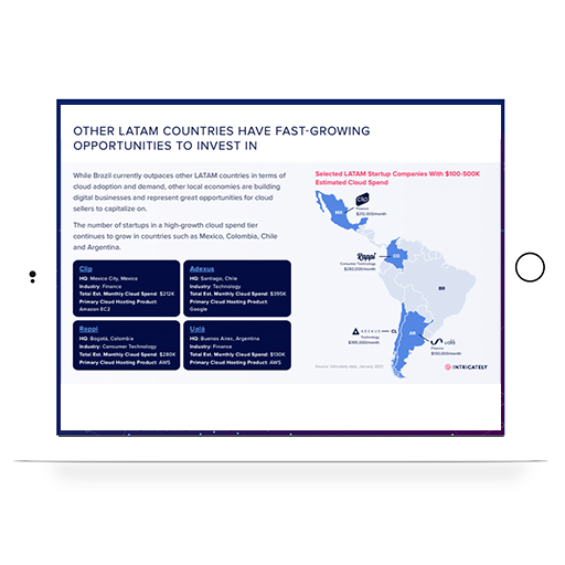 2021 LATAM Cloud Market Report hero